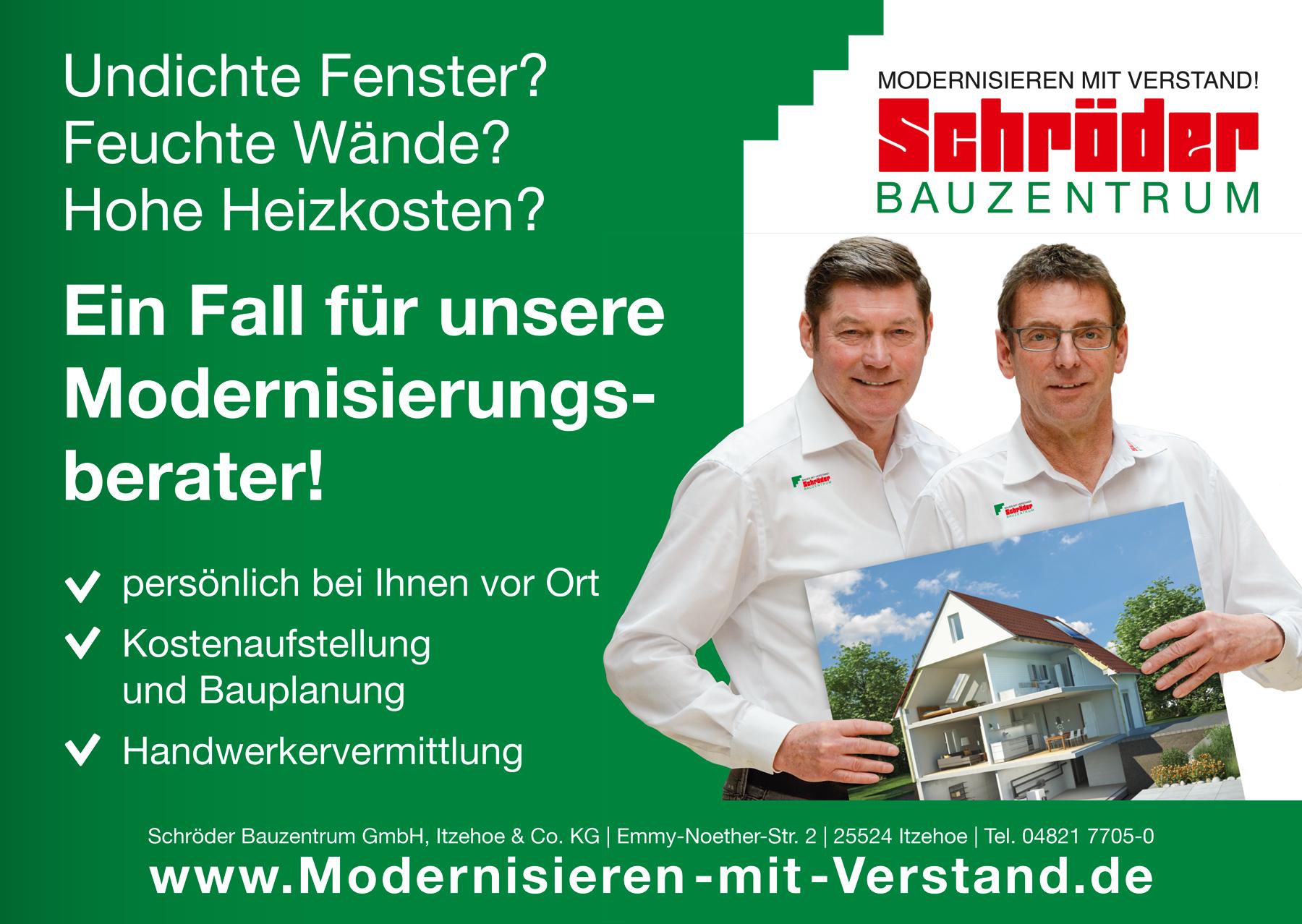 Kampagne für das Schröder Bauzentrum