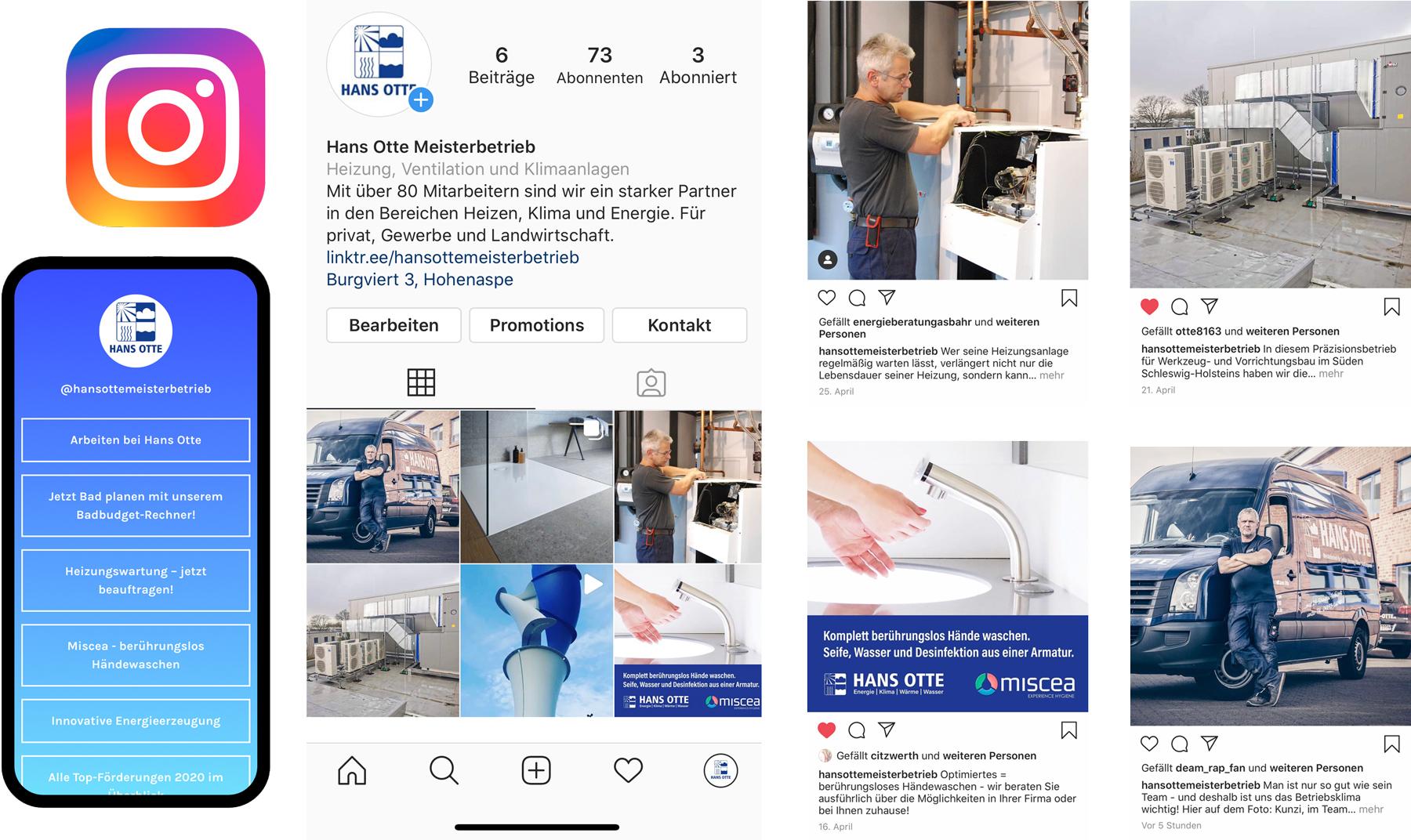 Hans Otte Meisterbetrieb bei Instagram