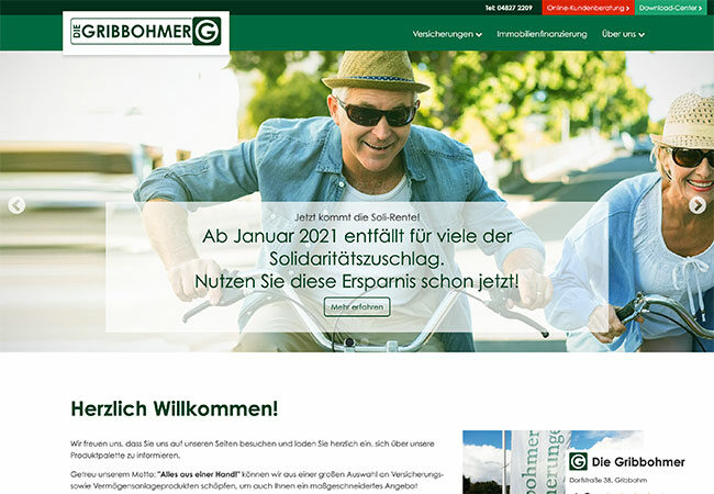 Website DIE GRIBBOHMER