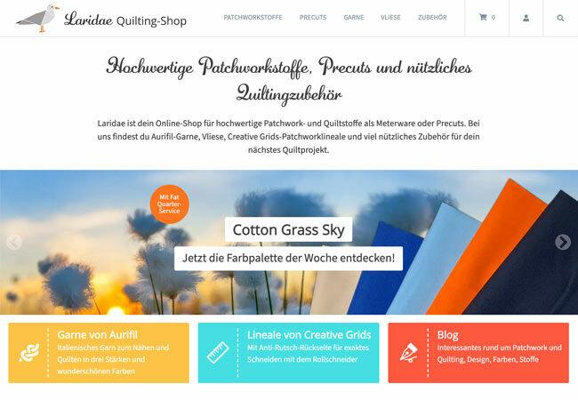 Laridae, dein Quilting-Shop